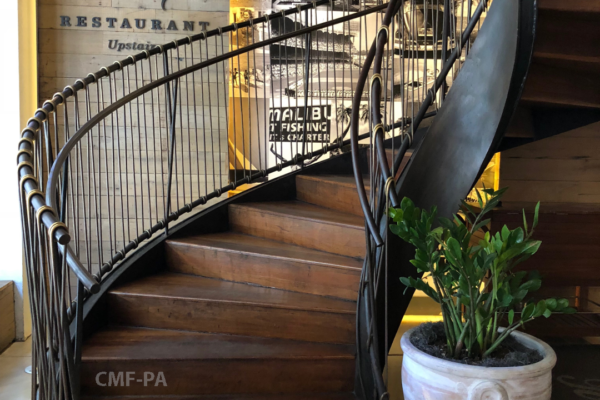 Circular Stairs and Rail